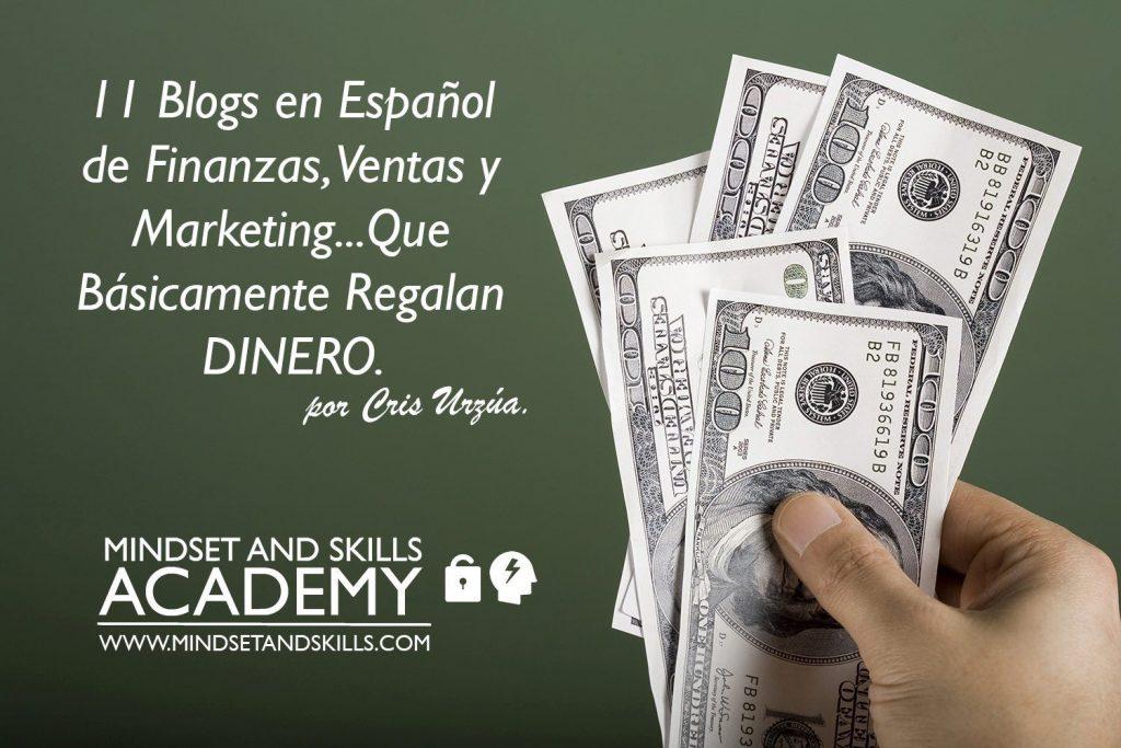 11 Blogs en Español de Finanzas, Ventas y Marketing que Básicamente Regalan Dinero (¿Ya los sigues?)…